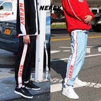 ★NERDY★ Line Windbreak Track Pants