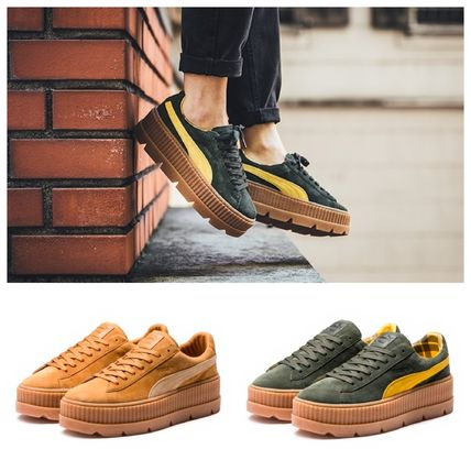 new arrival b8d6f 5a6c7 FENTY PUMA by Rihanna♡大人気厚底 Cleated Creeper Suede