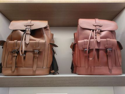 Coach バックパック・リュック Coach(コーチ) HUDSON BACKPACK レザー製 各4色(10)