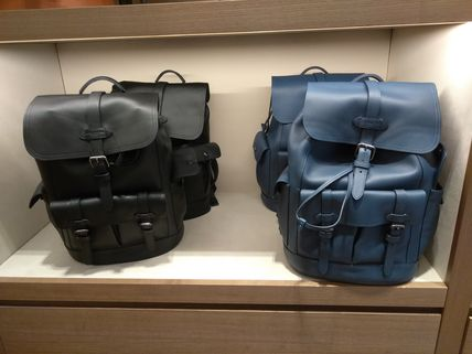 Coach バックパック・リュック Coach(コーチ) HUDSON BACKPACK レザー製 各4色(12)