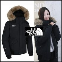 THE NORTH FACE(ザノースフェイス) ダウンジャケット・コート ☆THE NORTH FACE☆W 'S MCMURDO DOWN BOMBER JACKET- BLACK