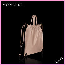 【MONCLER】日本未入荷☆ナップサック KINLY ピンク▲