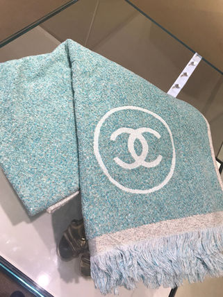 CHANEL トートバッグ 2018SS最新作★CHANEL★towel tote with detachable pouch 各色(4)