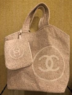 CHANEL トートバッグ 2018SS最新作★CHANEL★towel tote with detachable pouch 各色(5)