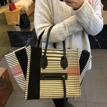 【CELINE】18SS新作 Luggage Phantom (M/Black-White Stripe)