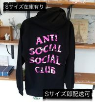 限定 ANTI SOCIAL SOCIAL CLUB Beverly Black Hoodie パーカー