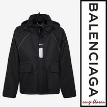 【国内発送】Balenciaga パーカー Black C Shape White Logo