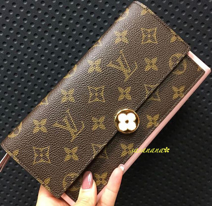 FLORE WALLET ヴィトン 長財布 フラップ 国内発送 2018SS