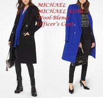 Love it 春先にもMICHAEL MICHAEL KORS Wool-Blend Coat