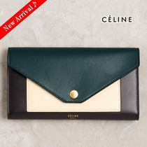 最新色♪大人気♡CELINE POCKET TRIFOLDED長財布,Amazon
