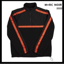 17-18FW新作/MRC NOIR/ STRAPPED FLEECE SWEATER 【送料関税込】