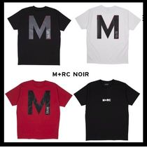 "17FW新作/MRC NOIR/ ""BIG M"" RED TEE【送料関税込】"