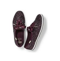 送料/関税込!KEDS X kate spade CHAMPION GLITTER DEEP CHERRY