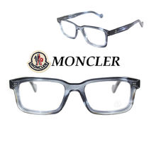 関税送料込☆MONCLER☆Grey Horn Frame Rectangle アイグラス