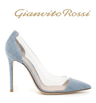 Gianvito Rossi- PLEXI DENIM-【SALE】関税・送料込