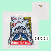 "☆GUCCI☆ ?Blind for Love"" プリントTシャツ♪ 12A"