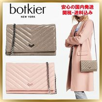 Botkier(ボトキエ) 長財布 ◇Botkier◇ Soho Quilted Wallet on a Chain 【関税送料込】