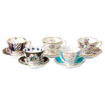 100Years Teacup & Saucer Set 10Piece 1900-40【送料・関税込】
