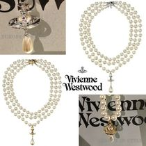 ◆VivienneWestwood◆激レア♪パールオーブ3連ネックレス