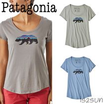 ☆日本未入荷☆ 新作 Patagonia/Roy Bear Organic Scoop T-Shirt