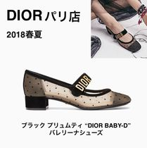 【Diorパリ店】 DIOR BABY-D バレリーナシューズ 追跡付