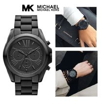 大人気♪オールブラックMichael Kors Bradshaw Watch MK5550