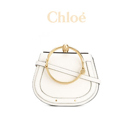 CHLOE NILE LEATHER SHOULDER BAG 989817655 【関税送料込】