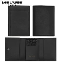 【正規品保証】SAINT LAURENT★18春夏★FRAGMENTS KEY CASE_BLK