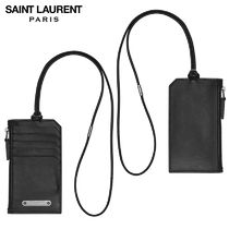 【正規品保証】SAINT LAURENT★18春夏★ID CARD CASE_BLACK