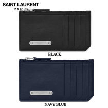 【正規品保証】SAINT LAURENT★18春夏★ID FRAGUMENTS ZIP POUCH