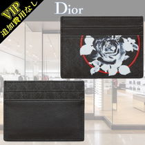 "◆◆VIP◆◆ DIOR HOMME  ""ROSES""  キャンバス  カードケース"