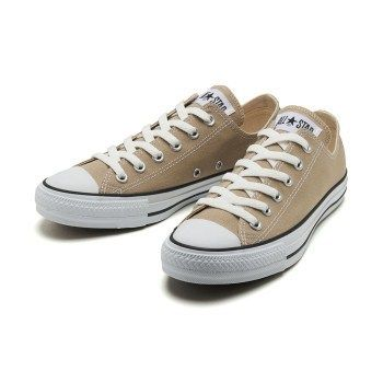国内配送 CONVERSE CANVAS ALL STAR COLORS OX ベージュ