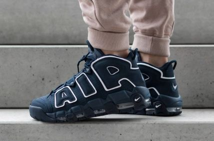 Nike キッズスニーカー 大人もOK★NIKE AIR MORE UPTEMPO モアテン オブシディアン(3)