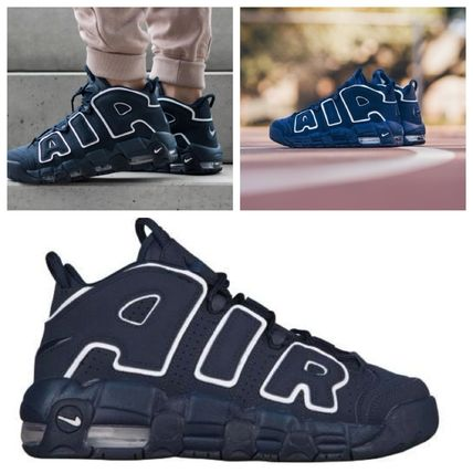 Nike キッズスニーカー 大人もOK★NIKE AIR MORE UPTEMPO モアテン オブシディアン