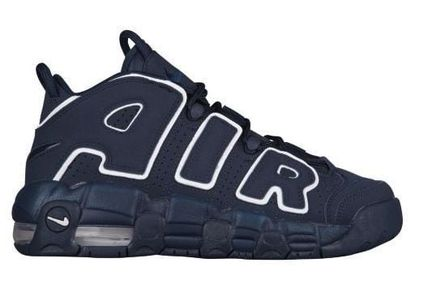 Nike キッズスニーカー 大人もOK★NIKE AIR MORE UPTEMPO モアテン オブシディアン(4)
