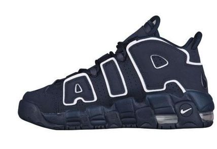 Nike キッズスニーカー 大人もOK★NIKE AIR MORE UPTEMPO モアテン オブシディアン(5)