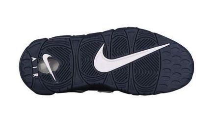 Nike キッズスニーカー 大人もOK★NIKE AIR MORE UPTEMPO モアテン オブシディアン(7)