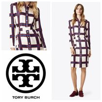 【Tory Burch】シャツワンピ ドレス HARPER SHIRTDRESS