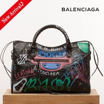 VIPセール♪最新作♡BALENCIAGA Graffiti Classic City