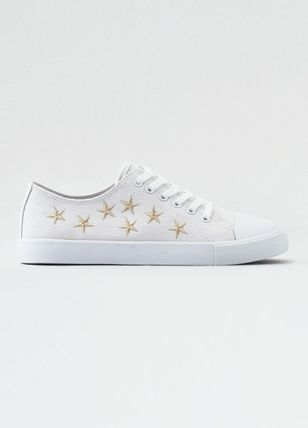 American Eagle Outfitters スニーカー [AEO] [Women]  Embroidered low top