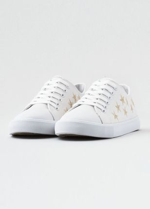 American Eagle Outfitters スニーカー [AEO] [Women]  Embroidered low top(3)