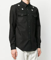 【関税負担】 GIVENCHY STAR PATCH DENIM SHIRT