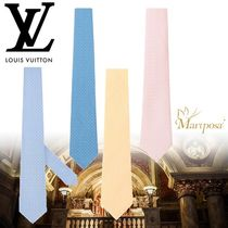 18SS ☆新作☆ ルイヴィトン  ◆MONOGRAMISSIME TIE◆4色◆