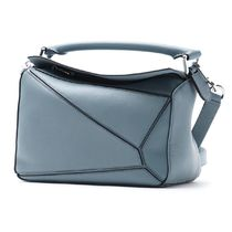 【LOEWE】バッグ☆PUZZLE SMALL STONE BLUE★2018春夏新作♪