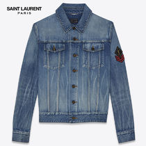 【正規品保証】SAINT LAURENT★18春夏★JEAN JACKET_BLUE