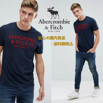 Abarcromie&Fitch☆フロックロゴアップリケTシャツ♪