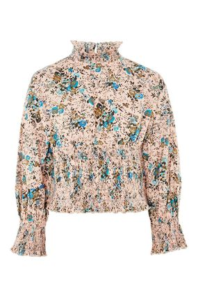 TOPSHOP ブラウス・シャツ 《スーパーフェミニン♪》☆TOPSHOP☆Floral Print Smock Blouse(2)