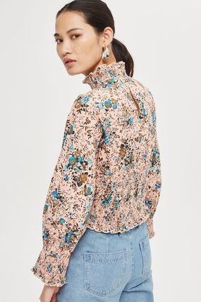 TOPSHOP ブラウス・シャツ 《スーパーフェミニン♪》☆TOPSHOP☆Floral Print Smock Blouse(3)