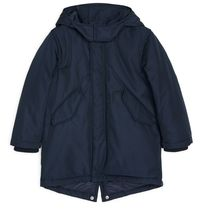 "ARKET(アーケット) キッズアウター ""ARKET""Water-Repellent Padded Parka DarkBlue"