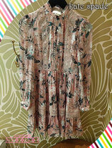 日本未発売ドレス!kate spade☆botanical chiffon mini dress
